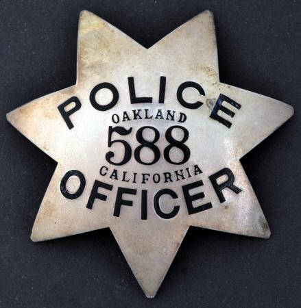 Oakland Police Badges 4
