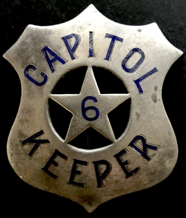 Hawaii Capitol Keeper badge #6 may have been for the Powder Magazine as shown below.