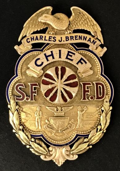 San Francisco Fire Chief Brennan