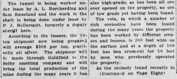 Goldfield News March 9 1918  p1-2