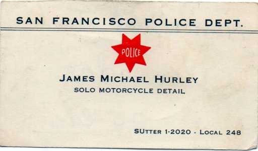 Hurley business Card
