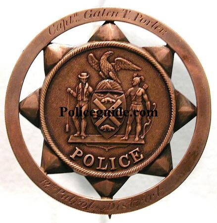 NYPD Capt Galen Porter badge