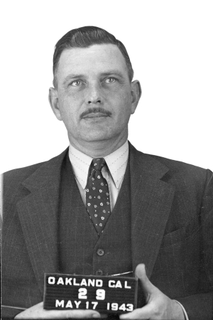 Department photo of Inspector Jewell taken May 17, 1943.