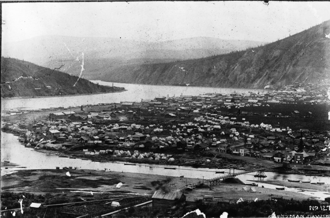 Dawson_City_and_the_Klondike_River,_YT,_about_1898