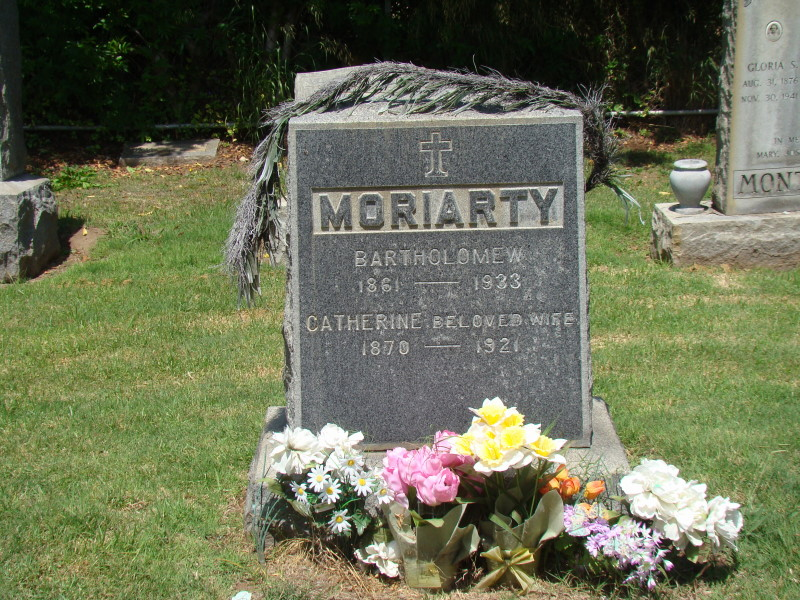 Moriarty Grave Stone