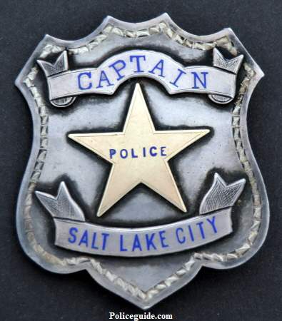 Sterling Captain of Police Salt Lake City, circa 1885.