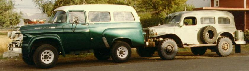 Casey Brothers Power Wagon Town Wagon Site